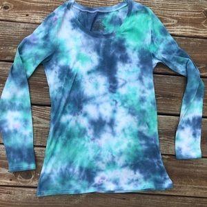Tie dyed no boundaries T-shirt